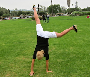 Handstand and Cartwheel Festival