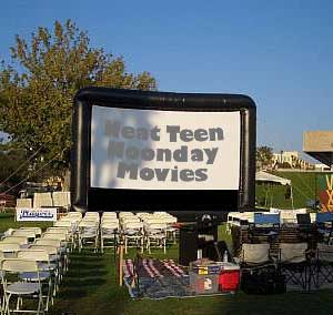 Noonday Movies in the Park